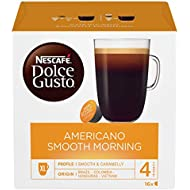 NESCAFÉ DOLCE GUSTO Americano Smooth Morning, Coffee, 16 Capsules (16 Servings)