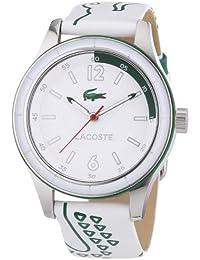 Lacoste Damen-Armbanduhr Analog Quarz Leder 2000830