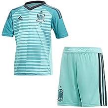check out b35d6 4a271 Adidas BR2698 Conjunto de Portero, Unisex niños, Verde (veraer verfue),