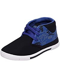 Scantia Stylish & Comfortable Casual Lace-Up Shoes For Men ( Colour : Blue::Black )_ (Aluminium Foil With 25 Piece...