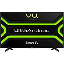 Vu 108 cm (43 inches) Full HD UltraAndroid LED TV 43GA (Black) (2019 Model)