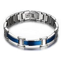 chaninely Titan Blau Magnettherapie Armband Schmerzlinderung für Arthritis Karpaltunnelsyndrom Sehnenscheidenentzündung... preisvergleich bei billige-tabletten.eu