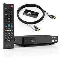Humax Digital Satelliten-Receiver HD Fox Twin mit Sat>IP - PVR-Ready, Schwarz