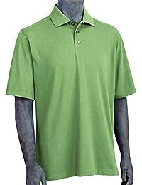 Ashworth Herren Hoch Drehen Golf Jersey Polo AM4570E (Größe Klein)