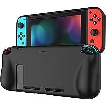 JETech Funda para Nintendo Switch 2017, Carcasa de Protección, Anti-Choques/Arañazo, Negro