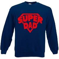 Felpa Unisex Idea Regalo Per il Papa' Super Dad