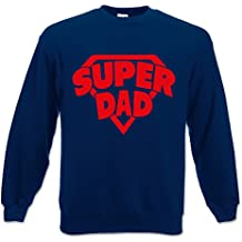 Felpa Unisex Idea Regalo Per il Papa' Super Dad