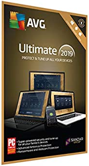 AVG Ultimate (PC, Mac & Android) (Unlimited Devices | 1 Year) (Activation C