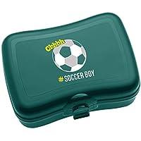 Koziol de balón de fútbol Lunch Box con impresión Emerald ...
