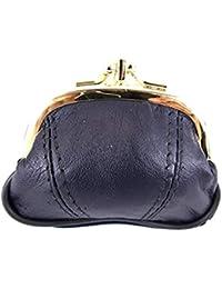 cf57c1d40a282 Emporium Leather kleine Damen Leder Clipverschluss Portemonnaie in 4 Farben  1486