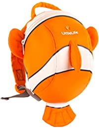 Littlelife mochila infantil Tagesrucksack Toddler Animal Clownfish, multicolor – multicolor, L10810