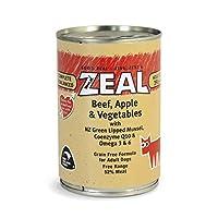 Zeal Beef, Apple & Vegetables Canned Dog Food 390grm