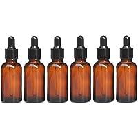 Hacoly 6er/Set 30ml Mini Glasflasche Pipettenflaschen Mit Glaspipette Kosmetik Abgabe von Flaschen ätherische... preisvergleich bei billige-tabletten.eu