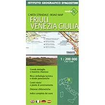Friuli Venezia Giulia 1:200.000. Ediz. multilingue