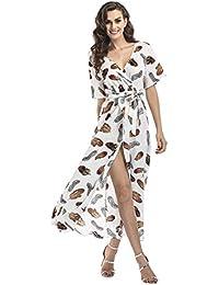 online store 3c110 82bb2 Amazon.it: fiori - Bianco / Vestiti / Donna: Abbigliamento