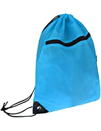 Homyl Drawstring Backpack Storage Bag Day Pack Sack Camping Shopping  Fishing Yoga 967d7c26f8397