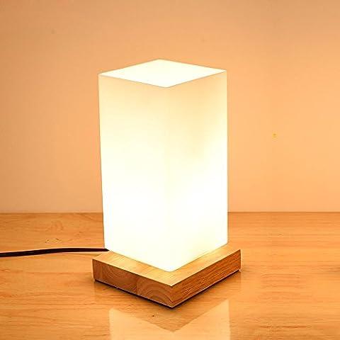 JUJUN LED E27 5W lampada da tavolo