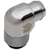 """G1/4"""" Silver Shining Rotary Angle Stubby 1/2"""" Fitting"""