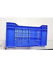 Nilkamal Multi-Purpose Use Crates-53300 JR (500x300x300mm) (Finish Color -Blue)