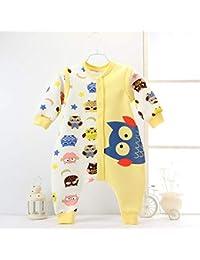 CWLLWC Saco de Dormir para bebé,Baby Kick contra de algodón de Manga Desmontable de