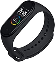 Mi Smart Band 4 - Waterproof with Color AMOLED Touch Screen, Music Control, Unlimited Watch Faces and up-to 20 Days...
