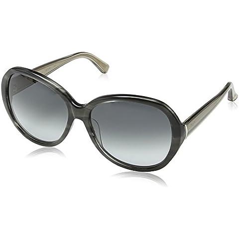 Calvin Klein - Gafas de sol Ovaladas CK7898 para mujer, 039 Black