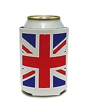 Great Britain England British Flag International Can Cooler - Drink Insulator - Beverage Insulated Holder