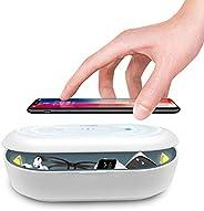 Cahot UV Light Sterilizer Box with Ozone, UV Phone Sterilizer Box with Aroma Diffuser, Fast Wireless Charging