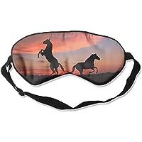 Sleep Eye Mask Horse Shadow Lightweight Soft Blindfold Adjustable Head Strap Eyeshade Travel Eyepatch E18 preisvergleich bei billige-tabletten.eu