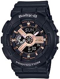 Casio Analog-Digital Black Dial Women's Watch-BA-110RG-1ADR (BX157)