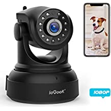 ieGeek [NEW UPDATE] 1080 IP Camera WiFi Home Security Surveillance Indoor CCTV Camera with HD Night Vision