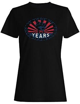 Me tomó 71 años para mirar este buen puño de hierro camiseta de las mujeres mm5f