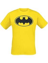 Batman Logo T-shirt jaune