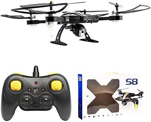 WanNing WiFi Drone, hélicoptères RC, avec caméra HD Grand Grand Grand Angle Live Vidéo RC Quadcopter Drone pour débutant Retour en Mode Keyless sans tête, Drone RC avec Appareil Photo, hélicoptères RC | Magasiner 94d4ba
