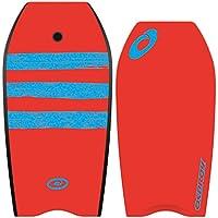 Osprey XPE rayas Bodyboard–Tabla de bodyboard (Rojo, 45-Inch