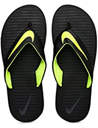 premium selection a9207 99f92 Nike Men s Chroma 5 Black Flip Flops Thong Sandals-8 UK India (42.5