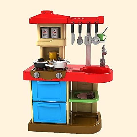 juguetes educativos de iluminación de plástico vajilla de cocina no tóxico seguro de la música a los niños determinados , blue