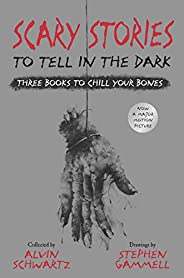 Scary Stories to Tell in the Dark: Three Books to Chill Your Bones: All 3 Scary Stories Books with the Origina