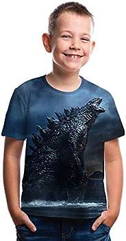 Godzilla - Camisa Infantil con impresión 3D - Camiseta Godzilla King Monsters para niño o niña