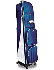 Long Ridge 4 Wheel - Bolsa de deporte para golf, color azul marino / plateado, talla n/a