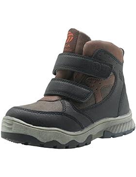 Best-choise Botas de Nieve Para Niños Botín de Cremallera con Tobillo Zapatos de Nieve Para Niños Dobles