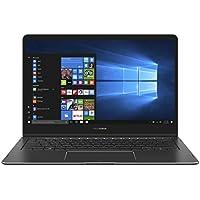 Asus ZenBook Flip S Notebook, LCD 13.3 Full HD, Processore Intel Core I7-7500U, RAM 16 GB, SSD 512, Blu [Layout Italiano]