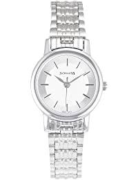 Sonata Analog White Dial Women's Watch NM8976SM01W / NL8976SM01W