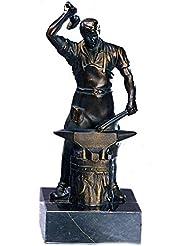 AS-P Trophäe/ Figur - Schmied versilbert inkl. Ihrer Wunschgravur, 21 cm
