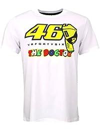 Valentino Rossi VR46 le docteur Moto GP T-shirt blanc officiel 2016