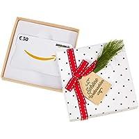 Amazon.de Geschenkkarte in Geschenkbox (Tannenzweig) - mit kostenloser Lieferung per Post