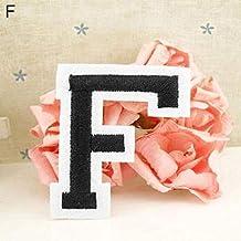 puran Parche Bordado con Letras del Alfabeto inglés de la A a la Z, para