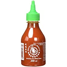 Flying Goose Chilisauce, Sriracha, scharf, 3er Pack (3 x 200 ml Packung)