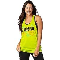 Zumba Fitness Z1t01345 Débardeur Femme