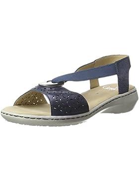 Caprice Damen 28603 Offene Sandalen mit Keilabsatz